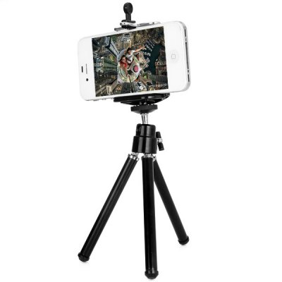 Universal Adjustable Cell Phone Stand Tripod and Holder for iPhone iPad Samsung Sony etc(China (Mainland))