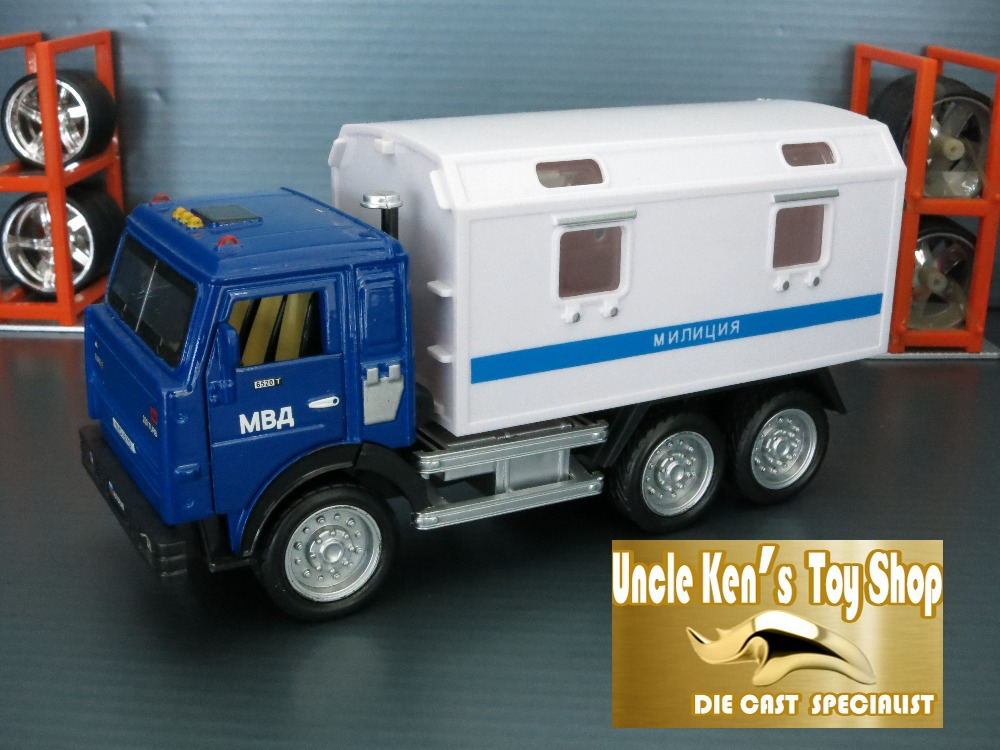 Free shipping Russian KAMAZ Military model diecast scania truck toy with pull back function/music/light/ for kids as gift(China (Mainland))