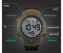 New Sports Watches Men Shock Resist Army Military Watch LED Digital Watch Relojes Men Wristwatches Relogio