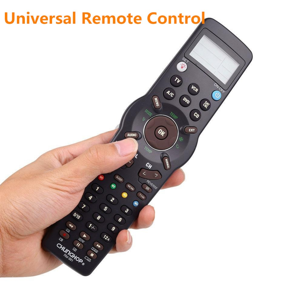 Multi-Functional Learning Remote Control Controller Universal Remote Control For TVs VCR SAT/CBL DVD CD(China (Mainland))