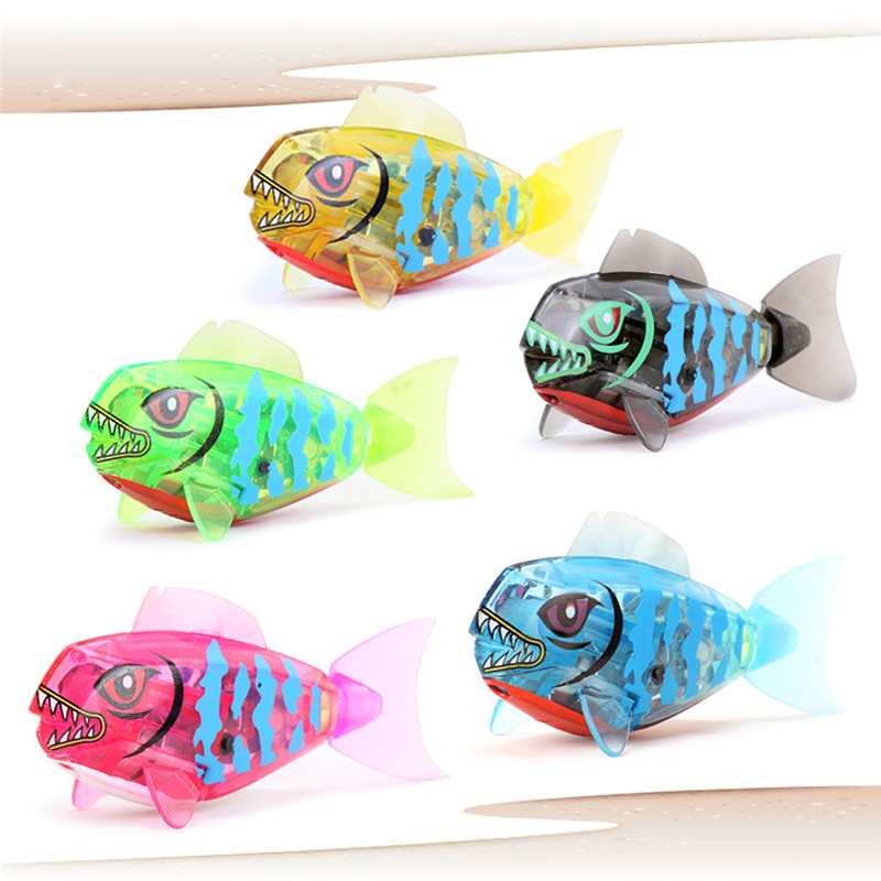 Toys By Brand : New brand baby fish toys childen kids robotic pet