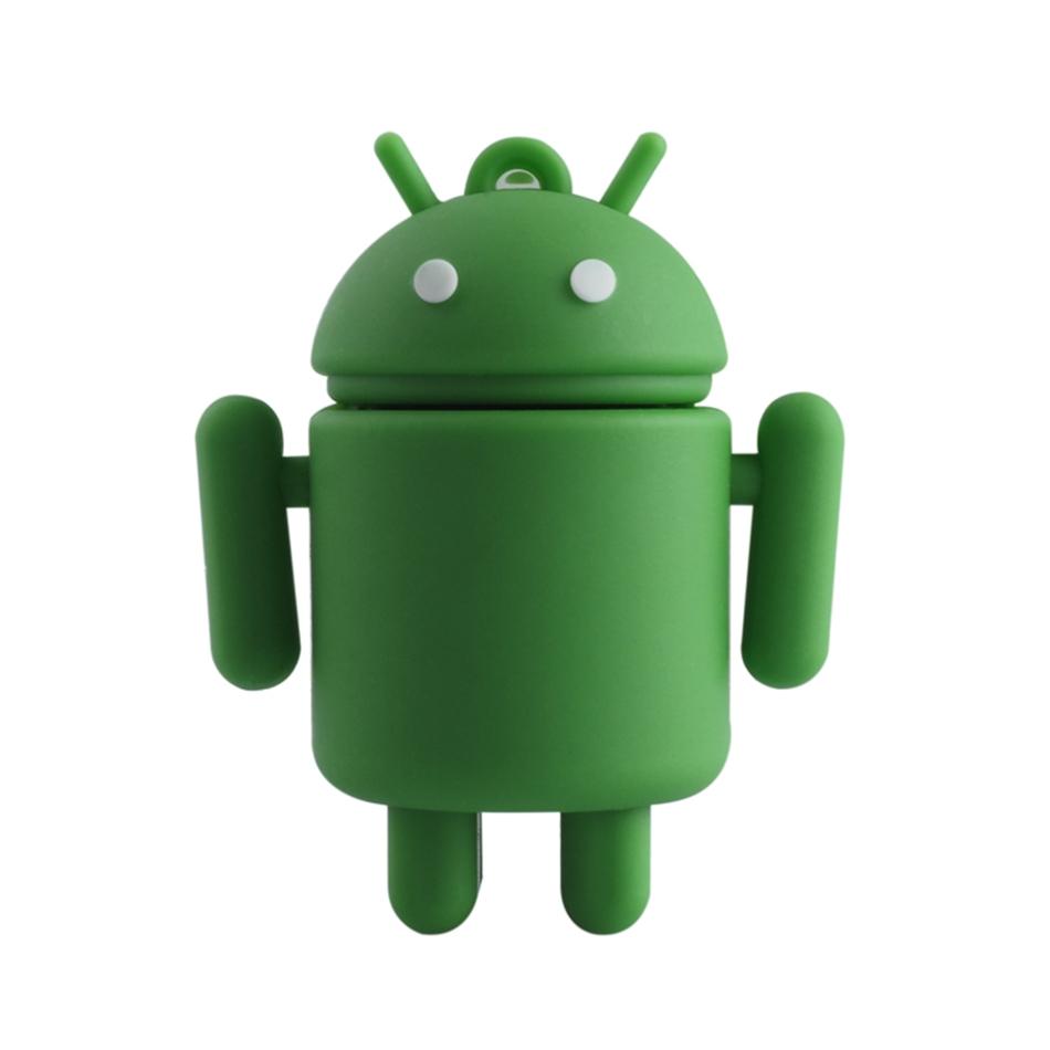 Cartoon Android robot usb flash drive pendrive usb2.0 disk 4gb 8gb 16gb 32gb 64gb gift pen drive memory USB stick(China (Mainland))