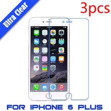 3Pcs/lot For iPhone 5 5S 4 4S 6 6S Plus Brilliant Diamond Screen Protector Sparkling Glitter Film Deluxe Crystal Sticker