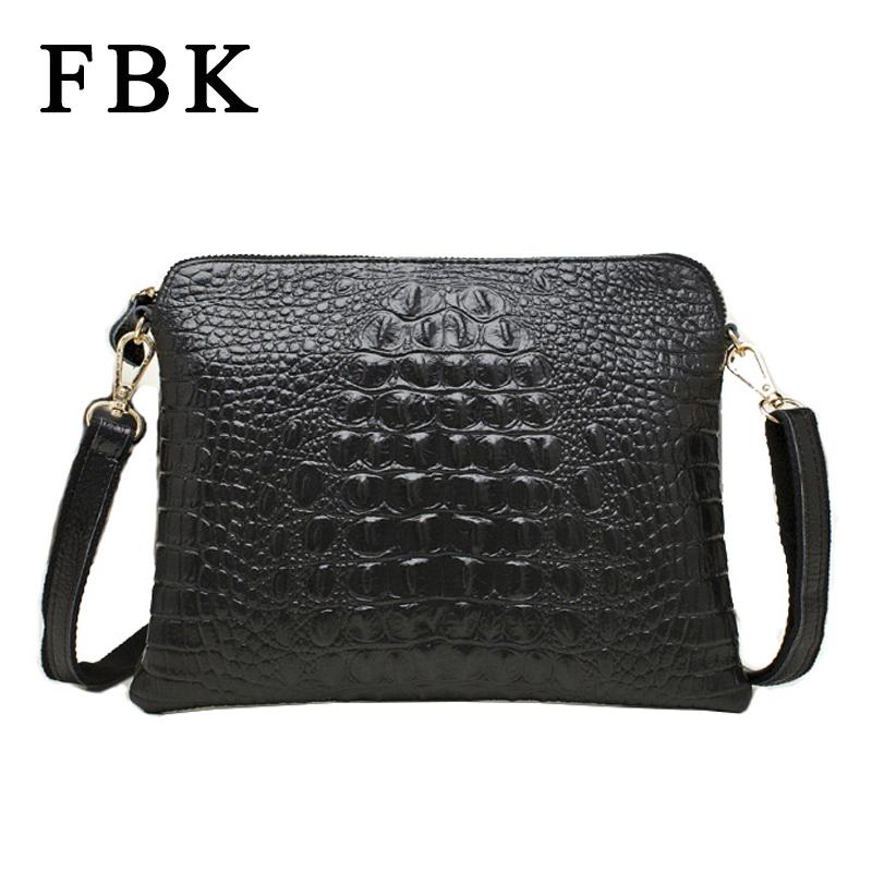 16 Colors Genuine Leather Fashion Designer 3D Crocodile Pattern Women Handbags Cowhide Women Messenger Bags Bolsas Femininas(China (Mainland))