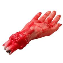 Creppy Scary Bloody Fake Latex Hand Halloween Masquerade Party Props Toys Fancy  (China (Mainland))