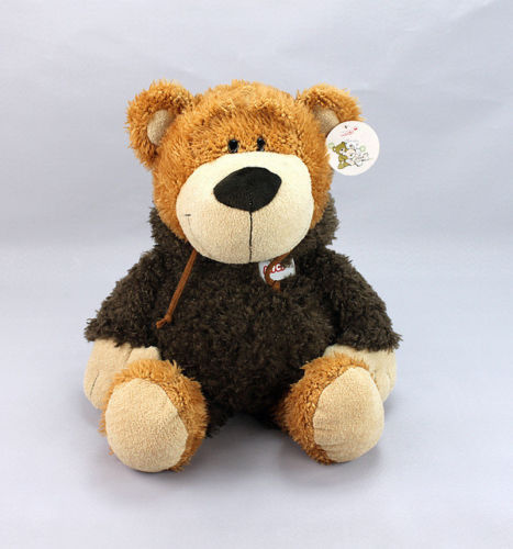 Nici plush toy stuffed doll happy bear Clothing Dressing Coat birthday gift 1pc(China (Mainland))
