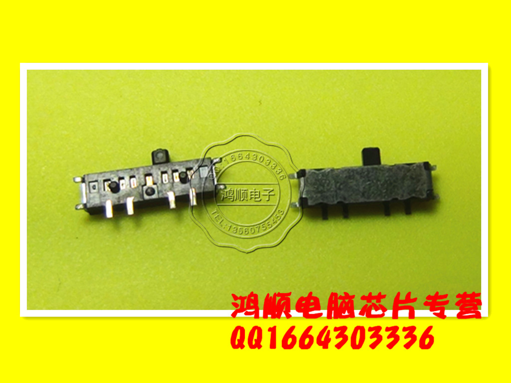 2PCS / LOT notebook netbook wireless card wireless Bluetooth reset switch 8 left foot KK7 100% GOOD(China (Mainland))