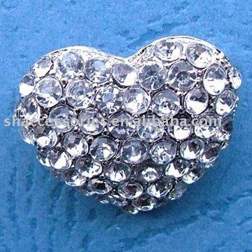 brooch heart brooch alloy brooch Fashion rhinestone brooch heart brooch! Crystal brooch!