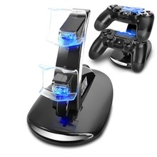 2016 Charging Dock Dual USB Stand Station For Sony Playstation 4 PS4 DUAL SHOCK Controller