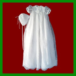 DHL Free shipping Christening gown&baby christening outfit&Christening dress(China (Mainland))