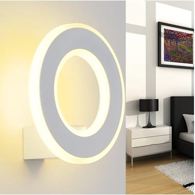 Led Wall lamp modern minimalist fashion creative bedroom living room lamp bedside lamps aisle lights acrylic LED lamps