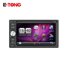 "2016 New Car DVD Player GPS Navigation System 6.2"" Universal  Touch Screen HD 800*480 Wince Car radio Bluetooth Steering Wheel(China (Mainland))"