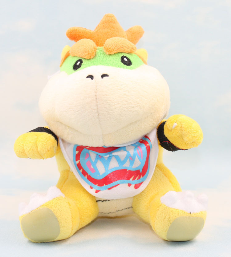 2016 18cm Game Super Mario plush Doll Toy Bowser the Dragon cartoon series II #10(China (Mainland))