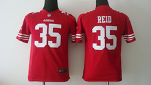 All stitched Youth San Francisco 49ers Kids children #35 Eric Reid #80 Jerry RICE #82 Torrey Smith 81 Anquan Boldin()