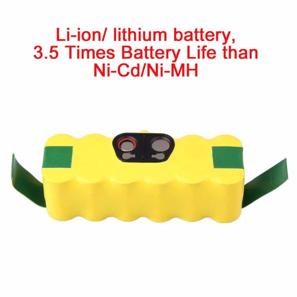 for iRobot Roomba 500 532 540 550 560 570 580 R3 Li-ion Lithium Battery 6000mAh Li-ion Battery(China (Mainland))