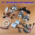 Car Styling Premium 3 0 inch Q5 Bi xenon HID Projector Lens Headlight Kit LED Angel