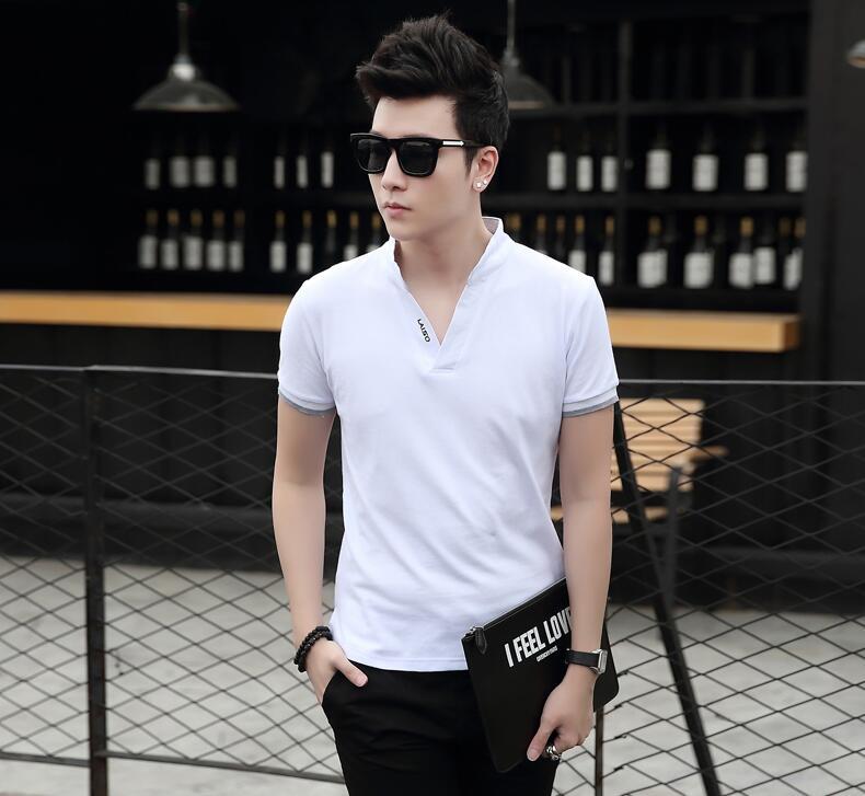2016 Men Short Sleeve Solid Shirt Polo Casual Turn-down Collar Camisa Polo Masculino Fashion Golf Shirts Polos, M-3XL(China (Mainland))