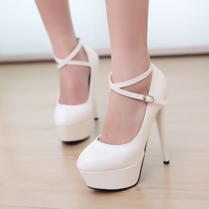 White Heels For Cheap - Boot Hto
