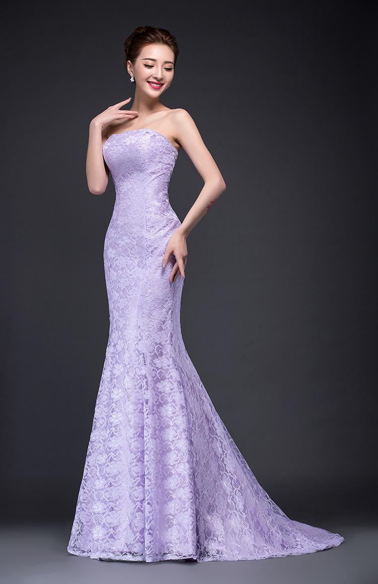 Violet Evening Dresses 86