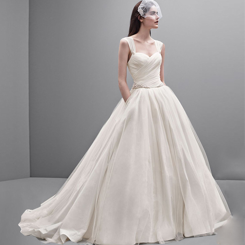 Elegance Of   Wedding Dresses : Aliexpress buy simple elegance bridal dress solid