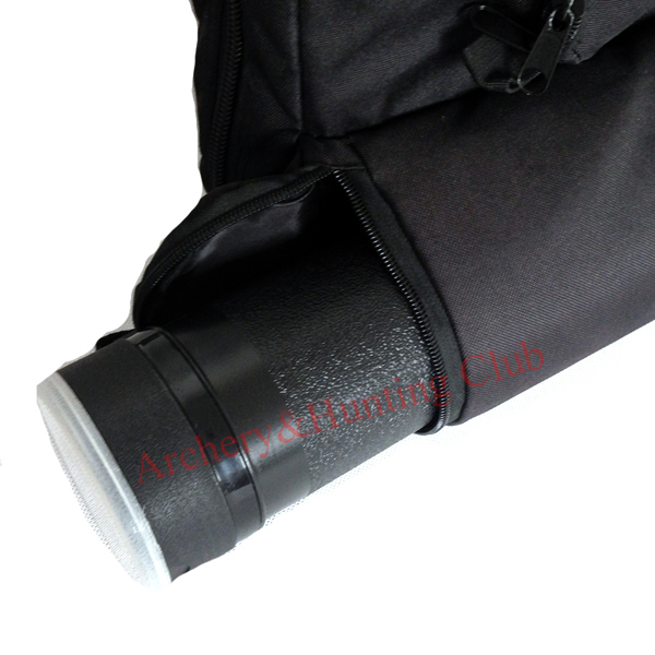 Free shipping inner with plush protection bow and arrow bag outter with arrow tube cylinder hunting