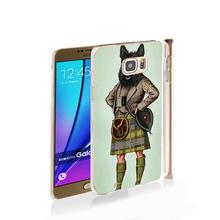 22909 Scottie Dog Kilt scottish terrier Animal cell phone case cover for Samsung Galaxy Note 3,4,5,E5,E7 G5108Q G530 grand prime