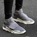 Men Shoes Casual Winter Warm High Top Sport Waking Shoes Suede Leather Fur Boots Mens Trainers