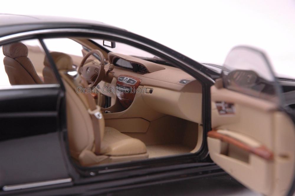 * Autoart 1/18 Scale Mercedes Benz CL63 AMG Coupe (Black) Luxurious Assortment Diecast Mannequin Automotive Luxurious Race Car