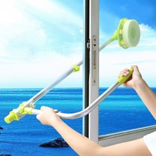 2pcs free shiping  telescopic High-rise window cleaning glass cleaner windows Cleaning Brush for clean the windows hobot 168 188(China (Mainland))