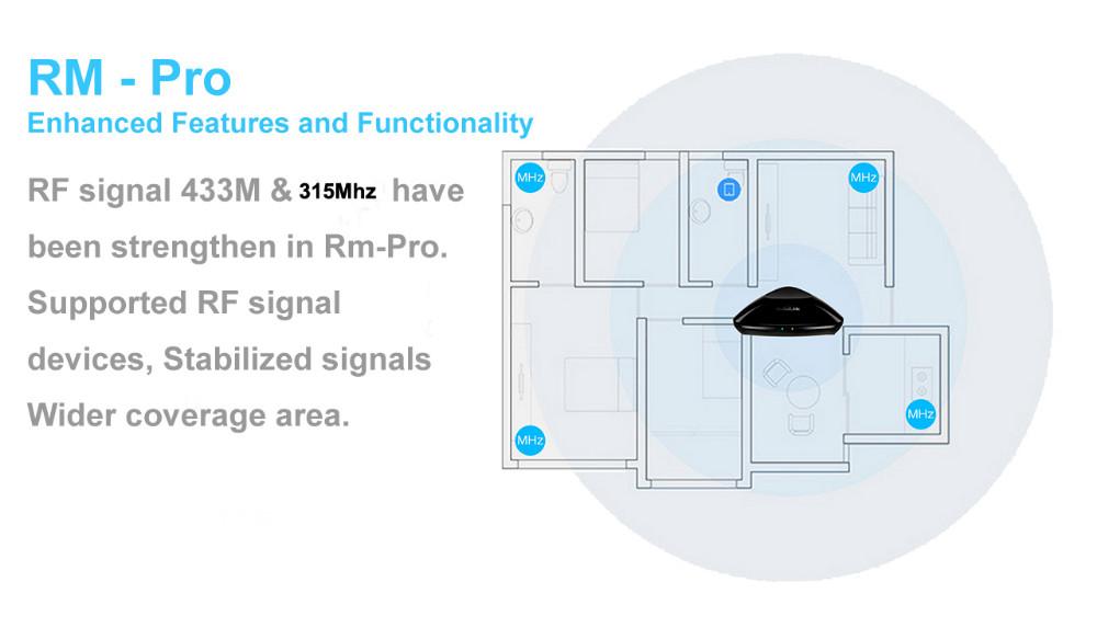 3----Broadlink Remote Control Rm Pro RM2, Smart Home Universal Intelligent Controller