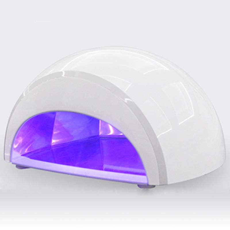 New Arrival Professional 100-240V 12W LED UV Gel Lamp Light Nail Dryer Nail Art EU Plug Nail tools(China (Mainland))