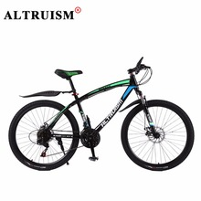 Buy Altruism Q1 Mountain Bicycle 21 Speed Steel Bike 26 Inch Bisiklet Mens Bicycles Velo Double Disc Brake Bicicletas Bikes for $224.98 in AliExpress store