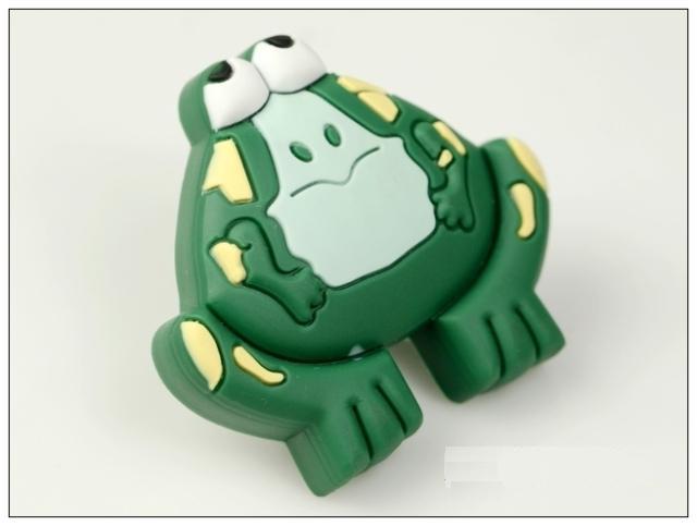 10Pcs Cartoon Frog Furniture Handles Rubber  Baby Boys Girls Room Furniture Knobs<br><br>Aliexpress