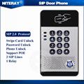 High Quality PBX IP Door Phone SIP Intercom Door Phone With Doorbell Feature Waterproof Numeric Keypad