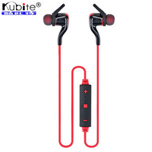 Kubite Wireless Bluetooth Headset Headphone Bluetooth 4.1 HIFI Stereo Sports Running Earphone Noise Cancelling Headset With Mic(China (Mainland))