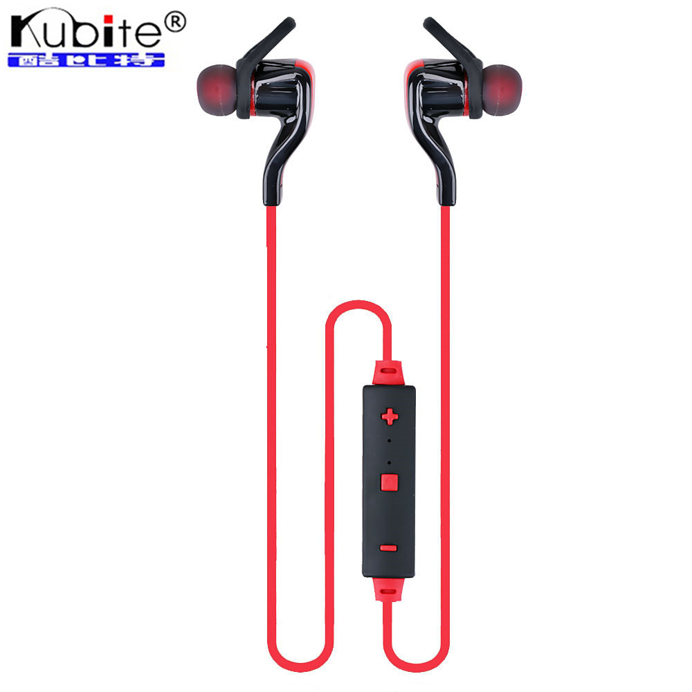 Kubite Wireless Bluetooth Headset Headphone Bluetooth 4.1 HIFI Stereo Sports Running Earphone Noise Cancelling Headset With Mic(China (Mainland))