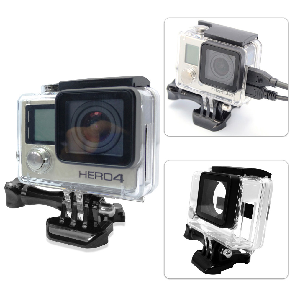 image for Go Pro Accessories Skeleton Protective Housing Case Open Side Protecto