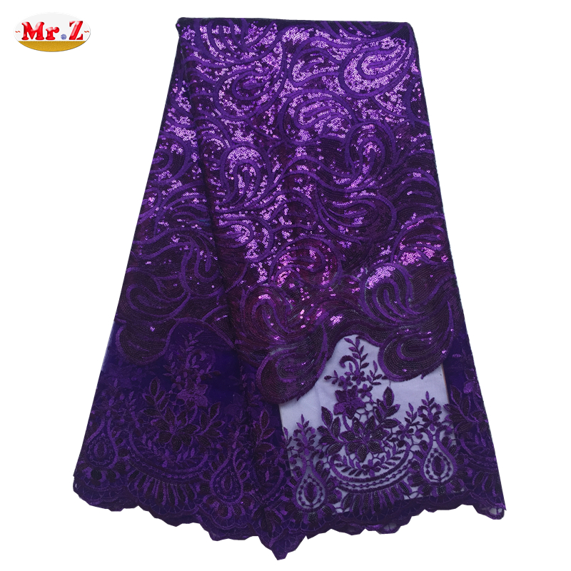 Mr.Z 2016 new Nigerian Lace Fabric High Quality African Nigerian Lace Fabric Embroidered Nigerian Lace Fabric For Women N1072(China (Mainland))
