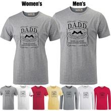 DADD Dads Against Daughters Dating funny fathers day gift Printed T-Shirt Men's Boys Graphic Tee Tops Grey White Red