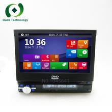 Universal 1 din Car dvd gps navigation for Universal car dvd player car radio car multimedia stereo audio SD USB Bluetooth(China (Mainland))
