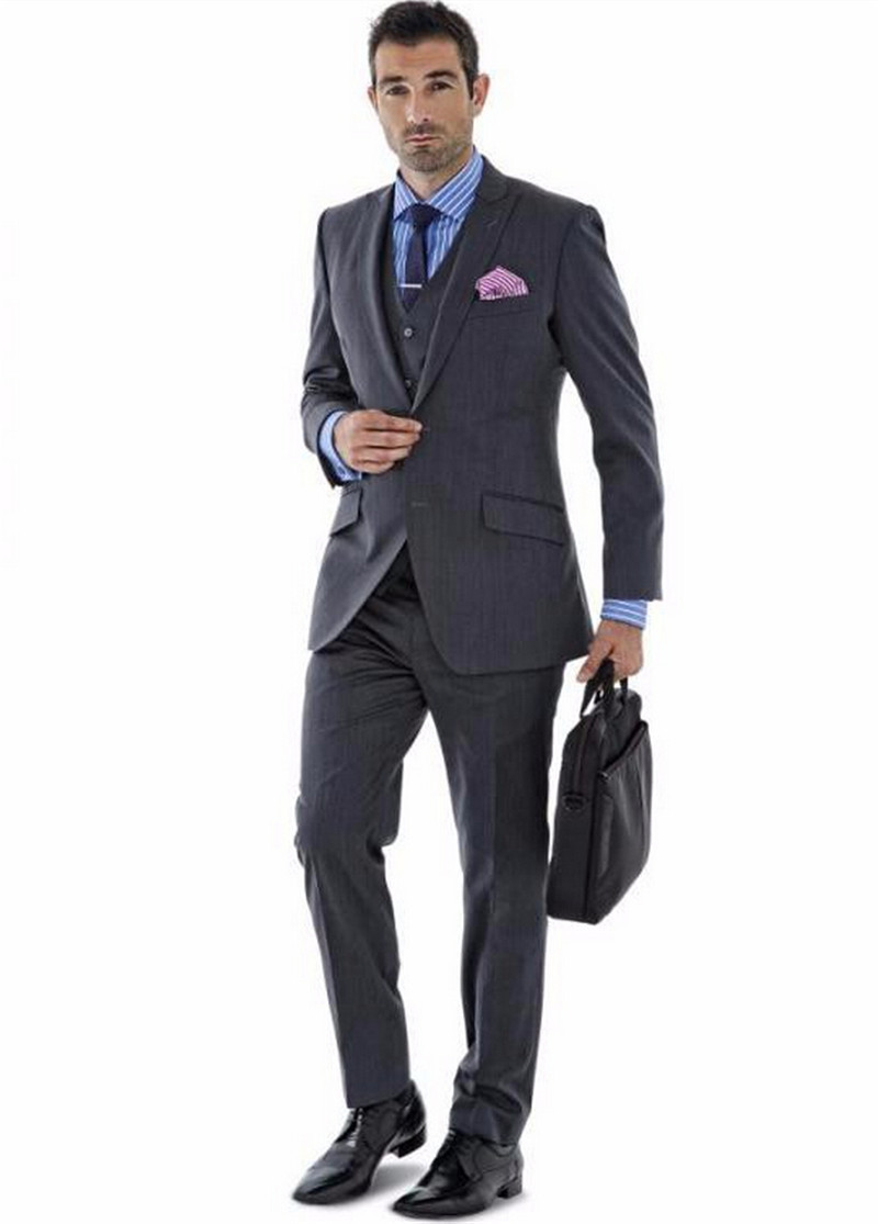 Costom made 2016 forma men business suits men wedding suits fashion