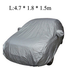 Universal Car Covers Styling Indoor Outdoor Sunshade Heat Protection Waterproof Dustproof Anti UV Scratch Resistant Sedan(China (Mainland))