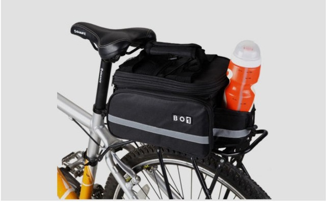 INBIKE bike pack rear package shelf contains a rain cover car