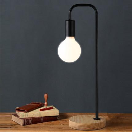 Practical reading light Led Table Lamp Iron Morden American Gift Desk Lamp Reading Lamp E27 110V 220V Clip Office Lamp For Study(China (Mainland))