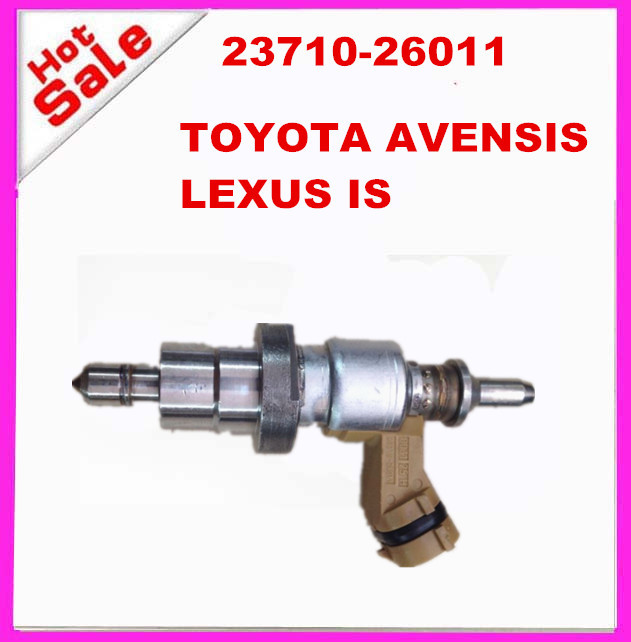 ORIGINAL TOYOTA AVENSIS LEXUS IS fuel injector nozzle 23710-26011 2371026011 23710-26010 23710-26012(China (Mainland))