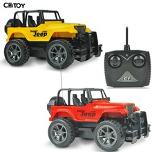 RC Jeep 1/24 Drift Speed Radio SUV Remote control Off Road vehicle Steering wheel RC Jeep vehicle Car Toy Yellow RED Toys(China (Mainland))