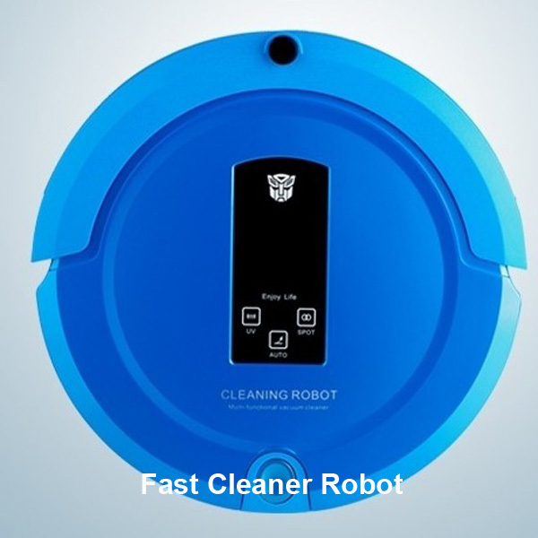 2014 Newest two-way virtual wall/ mute cleaning mode automatically Automatic Cleaning Vacuum Cleaner House Robot(China (Mainland))