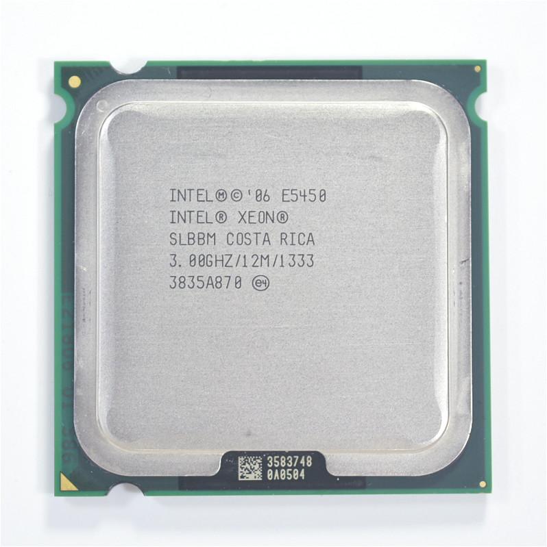 Intel Xeon E5450 (3.0GHz/12M/1333)Processor close to LGA775 Core 2 Quad Q9650 CPU, works on LGA 775 mainboard no need adapter(China (Mainland))