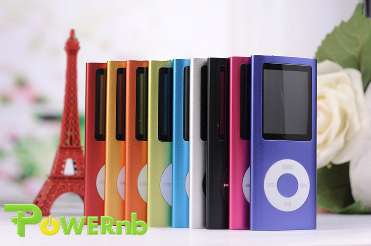 Free shipping+Free Gift NEW 9 COLORS 8GB FM VIDEO 4TH GEN MP3 MP4 PLAYER FREE SHIP MUSIC PLAYING(China (Mainland))