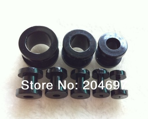 Mix 80pcs 2-12mm Acrylic Black Screw On Flesh Tunnel Ear Stretcher Expander Plug Body Piercing Jewelry Wholesale Free Shipping<br><br>Aliexpress